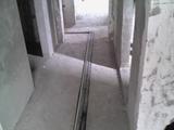 室内水地暖主管安装现场